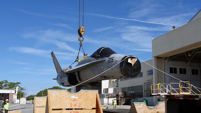 BOEING RETIRED 30 HORNETs TO UPGRADE AND BACK TO LIFE