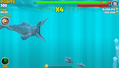 Hungry Shark Evolution MOD APK Premium Update v4.5.0 Terbaru