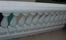 This balcony look new with the new paint