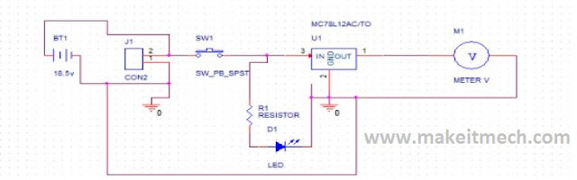 power distribution circuit for robot.complete circuit details.guide of power circuits