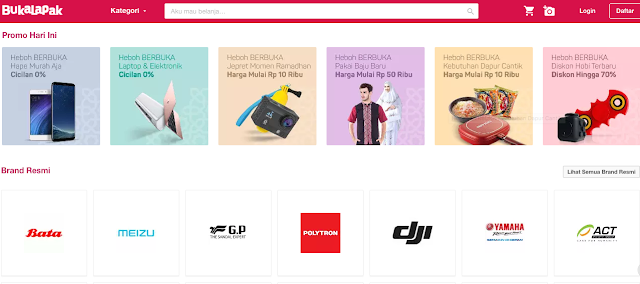 BUKALAPAK - Situs Jual Beli Handphone Online