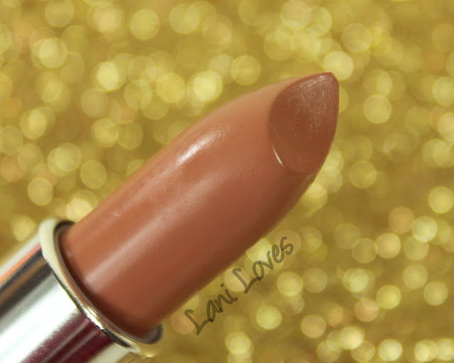 Maybelline Colorsensational Stripped Nudes - Tantalizing Taupe Lipstick Swatches & Review
