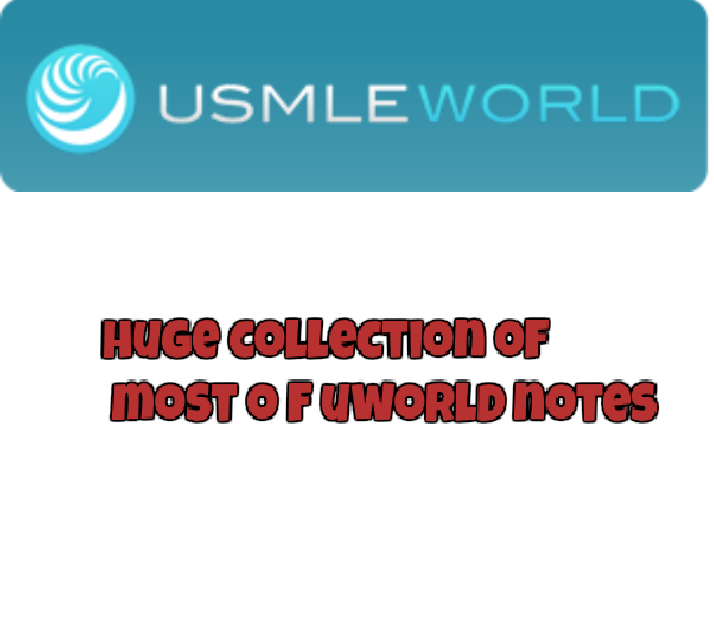 All Uworld Notes Pdf