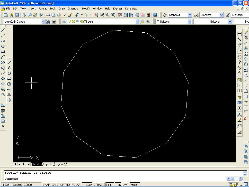 Autocad Learning How To Divide A Circle Into Equal Parts