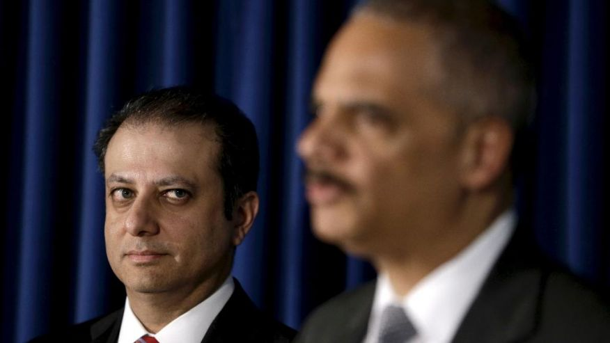 Preetinder Bharara, Clean-up Man for the American Spy State Cartel, including JPMorgan