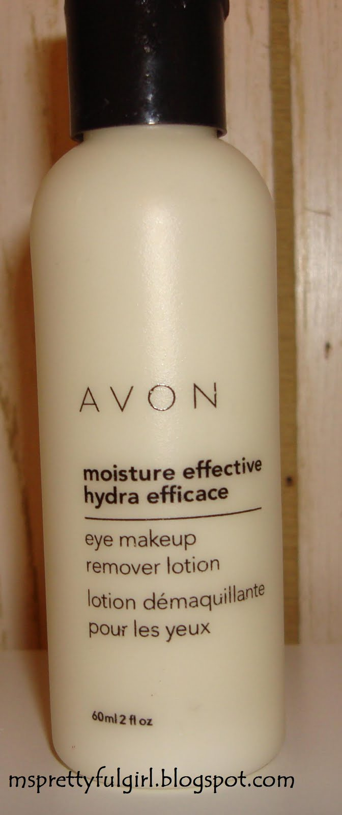 Avon eye makeup remover lotion