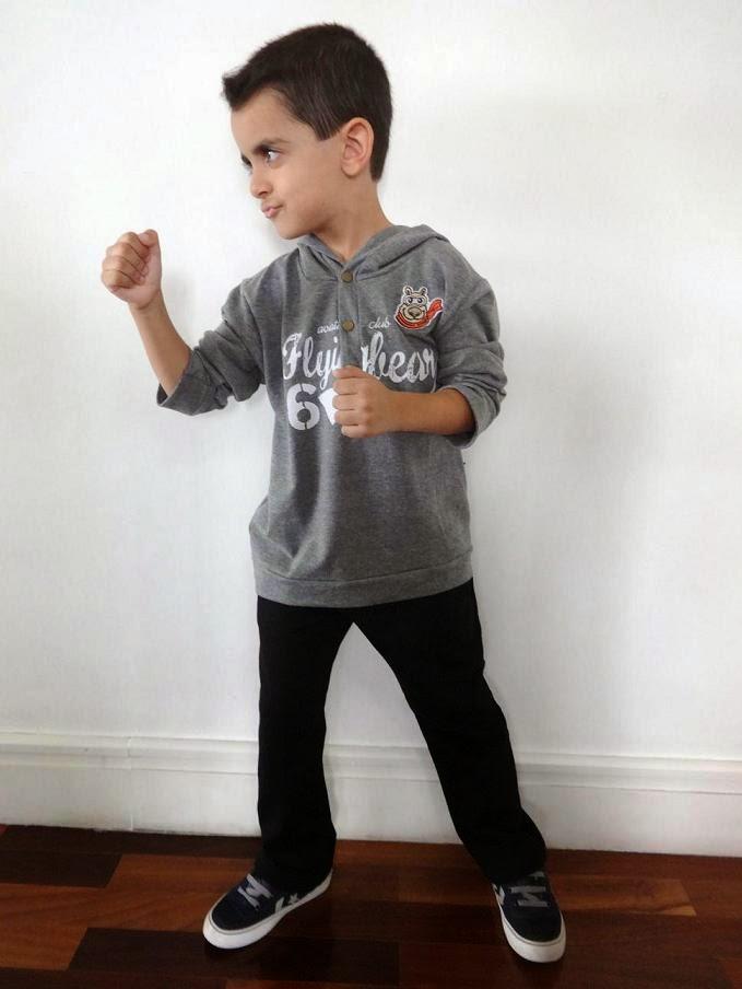 Mãe Sem Frescura - Looks para Meninos da Coleção Outono Inverno Elian 1
