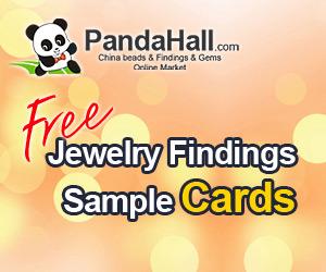 احصل على كاتلوج العينات المجانيه من الفضه والبرونز مجانا مع PandaHall