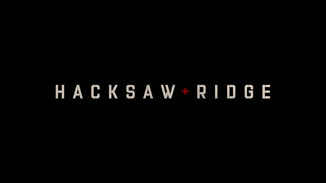 hacksaw ridge title card