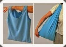 Kendin Yap, Eski Bluzdan Çanta Modeli Nasıl Yapılır?Resimli Açıklamalı 1