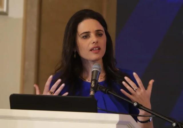 Ayelet Shaked: Eu completarei a revolução legal no próximo mandato