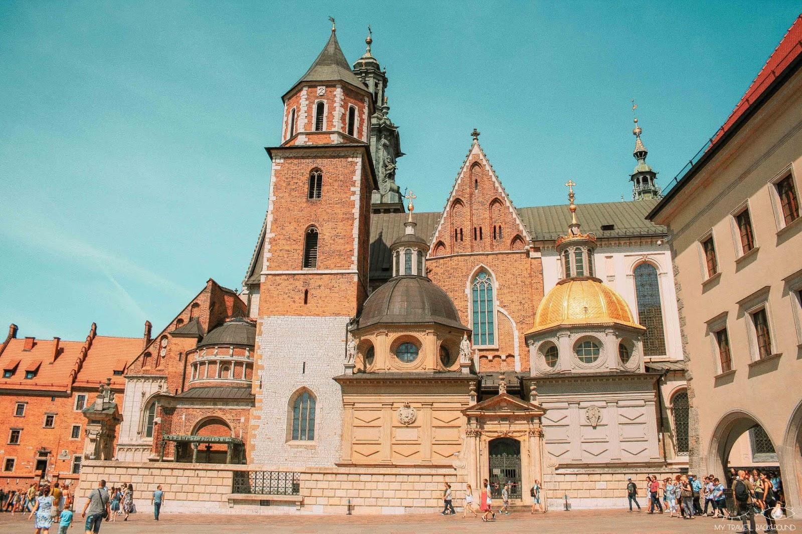 My Travel Background : Cracovie en Pologne, mon top 10 pour visiter la ville - Cathédrale du Wawel