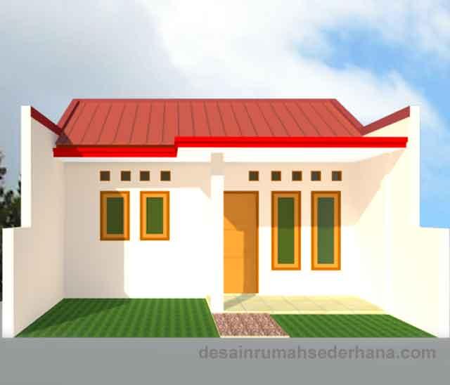 konstruksi baja ringan untuk rumah minimalis desain renovasi bertahap type 21/60, kpr-btn ...