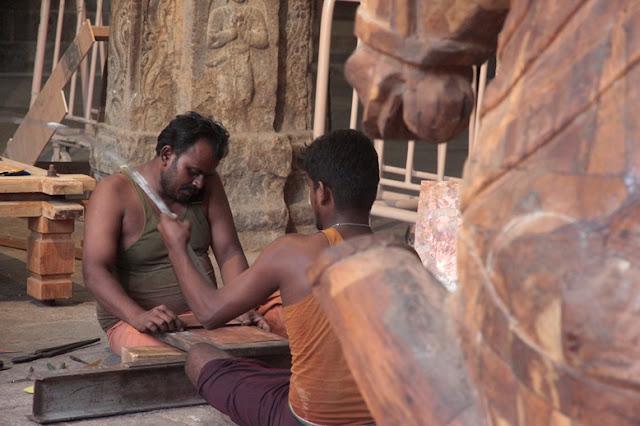 restauration srirangam temple tamil nadu