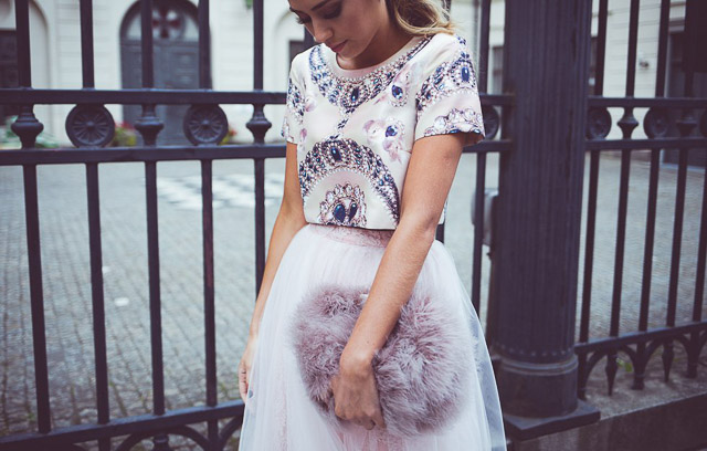 invitada boda crop top blog look vestido