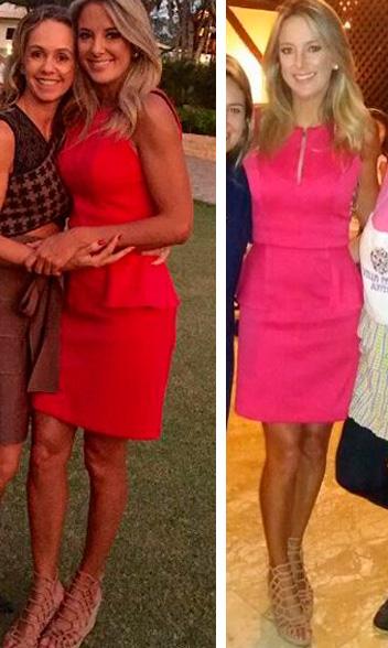 Ticiane Pinheiro vestido rosa, aniversário rafa justus 7 anos