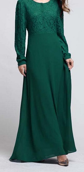 NBH0495 IRSA LACE DRESS ( NURSING FRIENDLY)