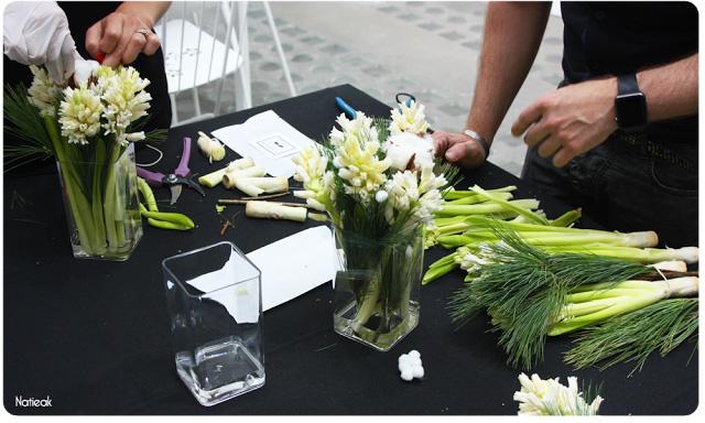Atelier Interflora avec Monsieur le fleuriste