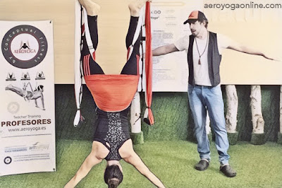 yoga aérien Rafael Martinez