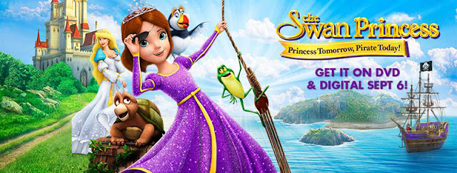 Win The Swan Princess: Princess Tomorrow, Pirate Today DVD for Your Home Library
