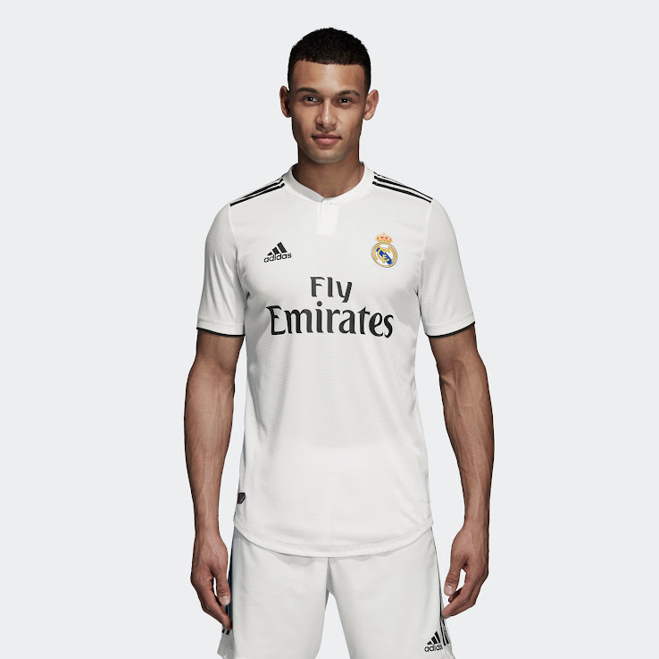 94d6b921f Real Madrid 18-19 Home Kit Released - Footy Headlines