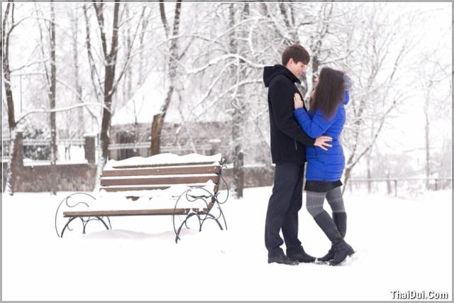 ảnh mùa đông lãng mạn