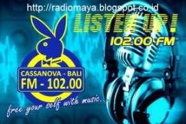 Radio Cassanova 102 fm Denpasar Bali