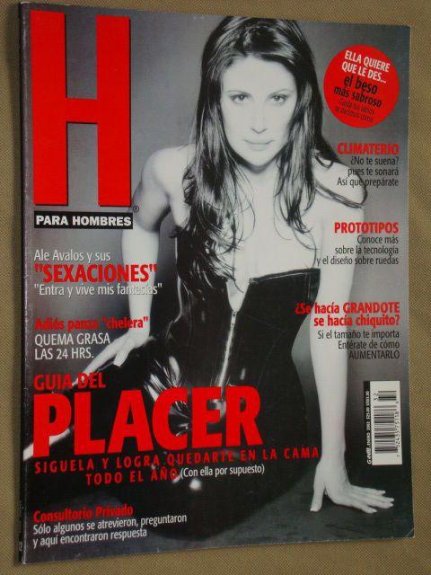 Alejandra Avalos Revista H Enero 2002 [FOTOS]