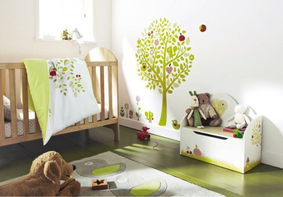 Ideas de dise o para el cuarto del beb por vertbaudet - Ideas para decorar el cuarto del bebe ...