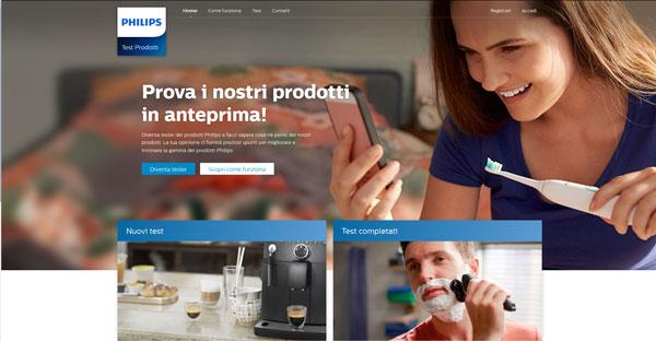 Philips tester prodotti