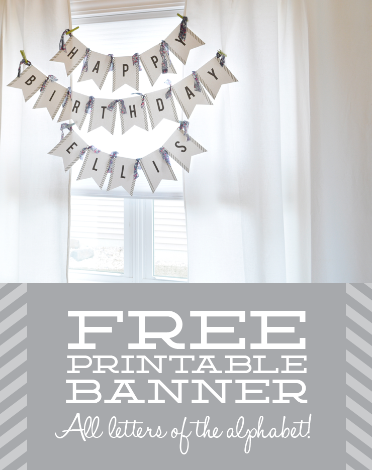 What s Up with The Buells FREE PRINTABLE BANNER FOR ANY OCCASION