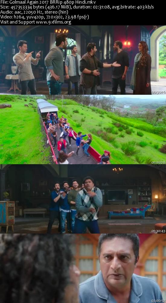 Golmaal Again 2017 BRRip 480p Hindi Movie Download 6