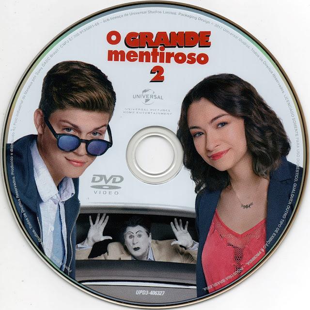 Label DVD O Grande Mentiroso 2