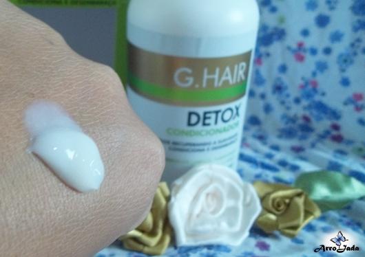 Kit Detox Capilar da G. Hair Cosméticos
