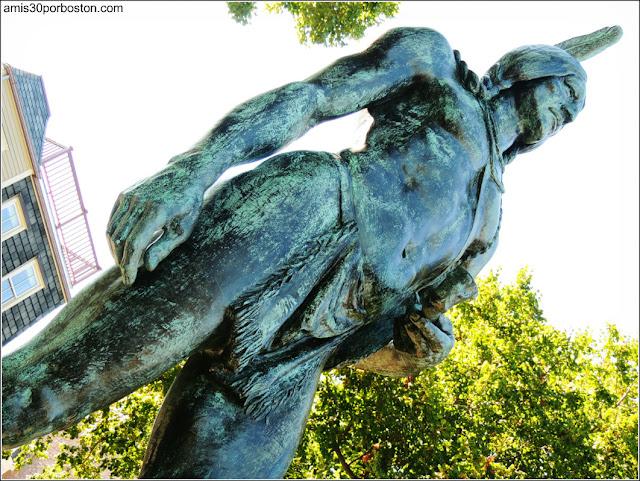 Escultura de Massoit, Plymouth