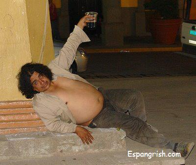 mexican dancing Drunk guy