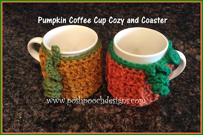 Posh Pooch Designs Dog Clothes: Pumpkin Coffee Cup Cozy ...