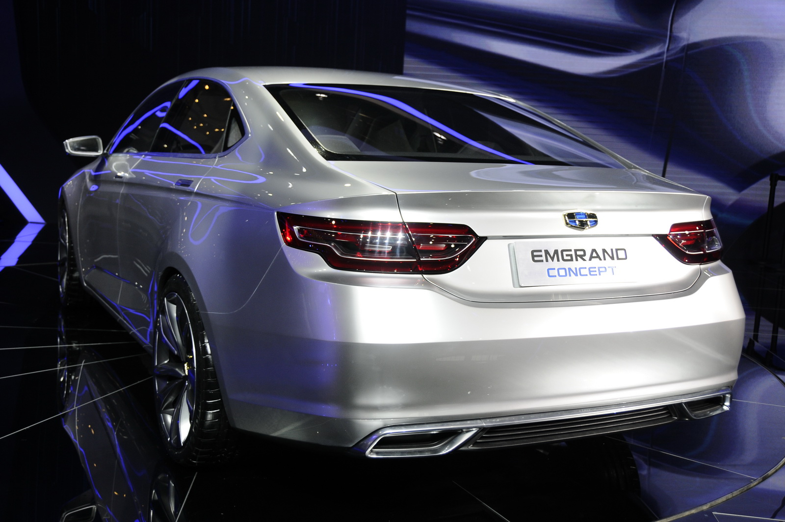 What Do You Think About Geely's Emgrand Concept?