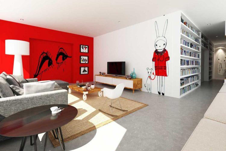 Mural menjadi tren baru untuk menghias dinding rumah minimalis .  Sebenarnya 9a6daa49ce