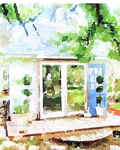 waterlogue-print-of-garden-shed