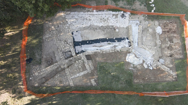 2017 excavation results at the Roman town of Carsulae in Umbria