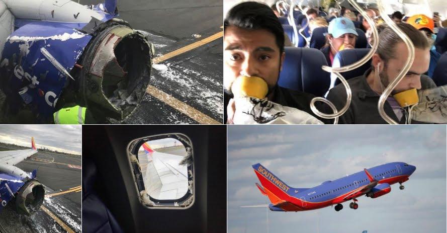 Incredibile: Esplode motore durante un volo aereo, un morto su Boeing Usa