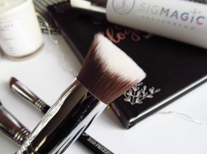 sigma 3DHD kabuki best face brush