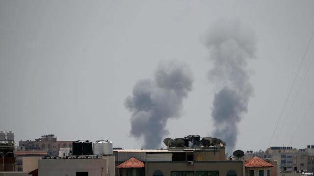 Jet Tempur Israel Hantam Jalur Gaza