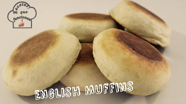English Muffins - Panes en la sarten