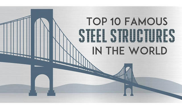Top 10 most famous steel structures in the world