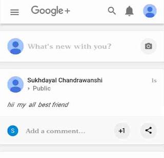 Google+ me bold, italic post kaise kare 5