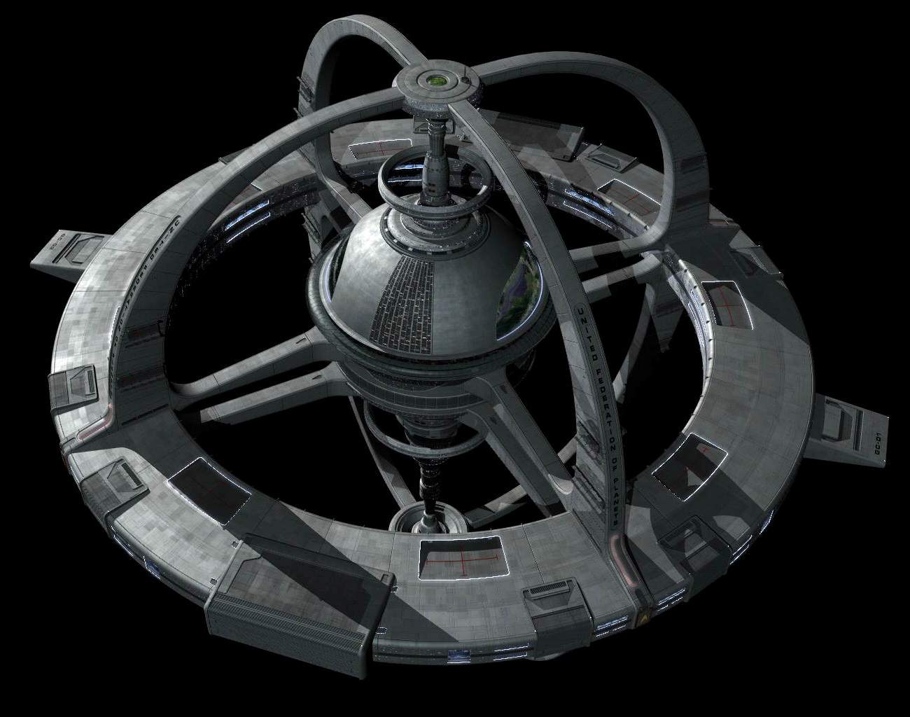 the new ds9 space station - photo #2
