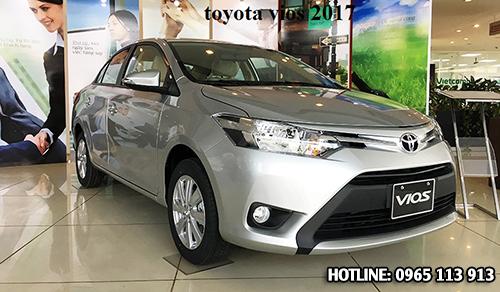 Toyota vios 2017 Hai Phong