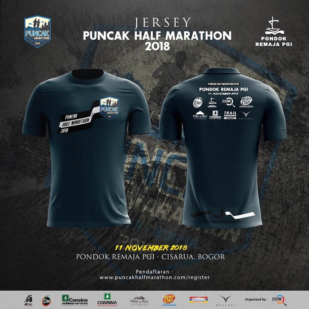 Puncak Half Marathon • 2018 Jersey